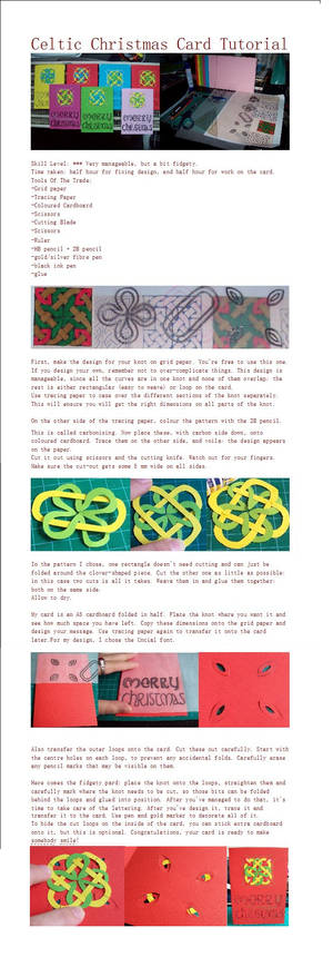 Celtic Knot Card Tutorial