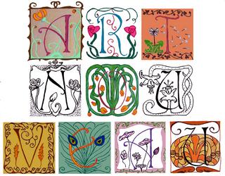 Art Nouveau - Refreshed Fivies by Bonnzai