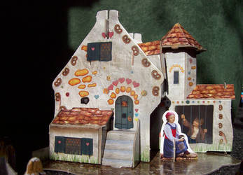 Hansel and Gretel Candy House by Bonnzai