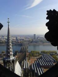 Cologne Hohenzollernbruecke by Bonnzai