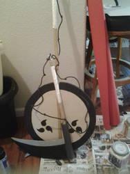Uchiha Izuna~ Convention safe War Fan (17)