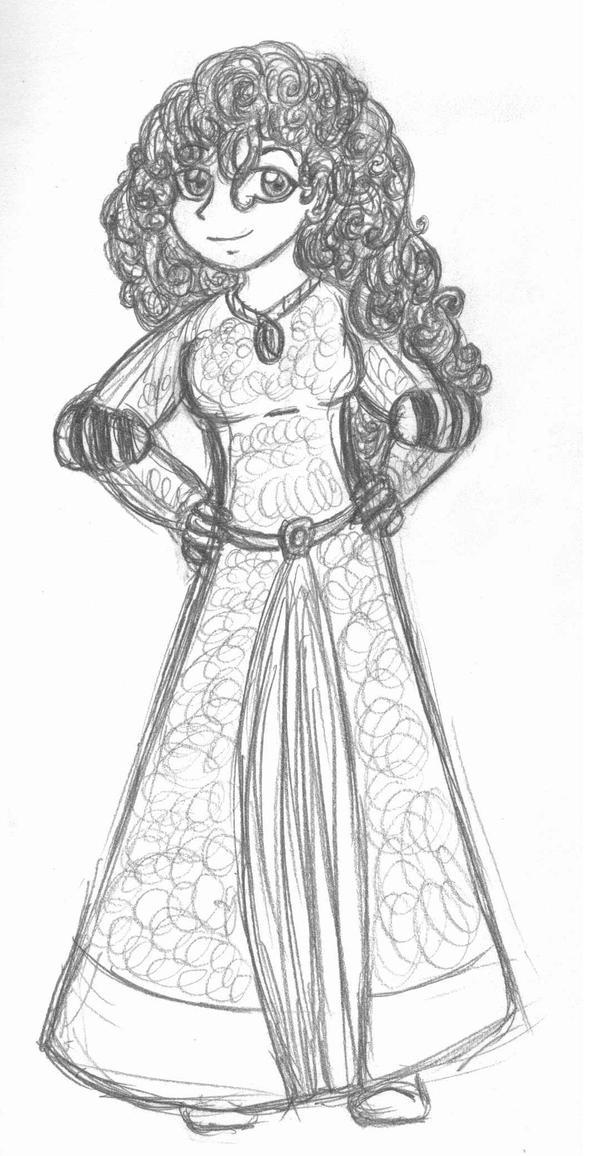 Merida Sketch
