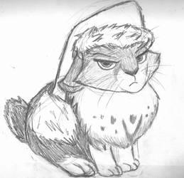 Bunnymund Sketch by ChosenKaze