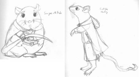 Rat Lord of the Rings by ChosenKaze
