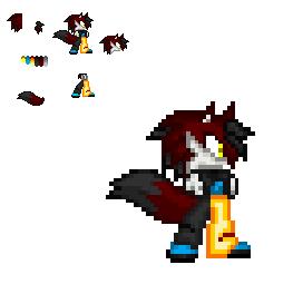 Death as a Demonhedgewolf by Cloudthehedgehog12