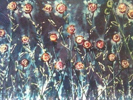 Frozen Flowers by makwasie