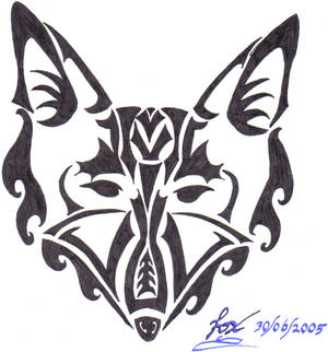 Tribal_Fox_Drawing