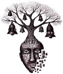Tree of Your Soul pen ink surreal drawing