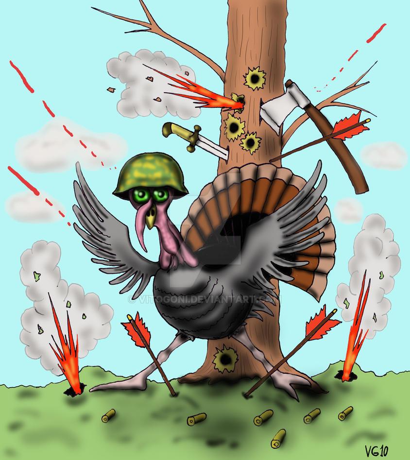 Thanksgiving turkey cartoon by Vitogoni on DeviantArt
