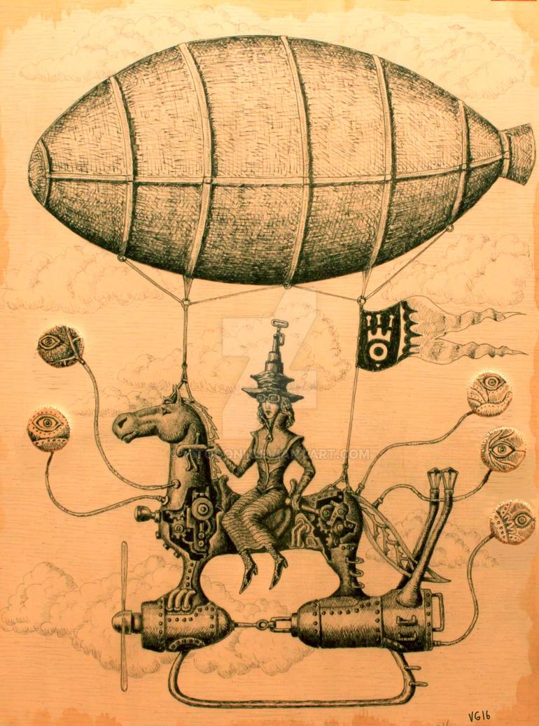 Sky Rider by Vitogoni