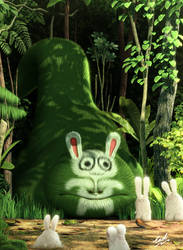 Bunny Eater by carlsonwkk