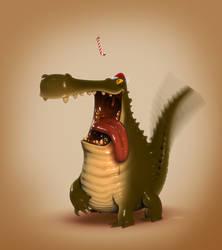Xmas Croc by carlsonwkk