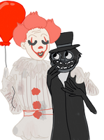 clown man take me by the hand by theyifflord