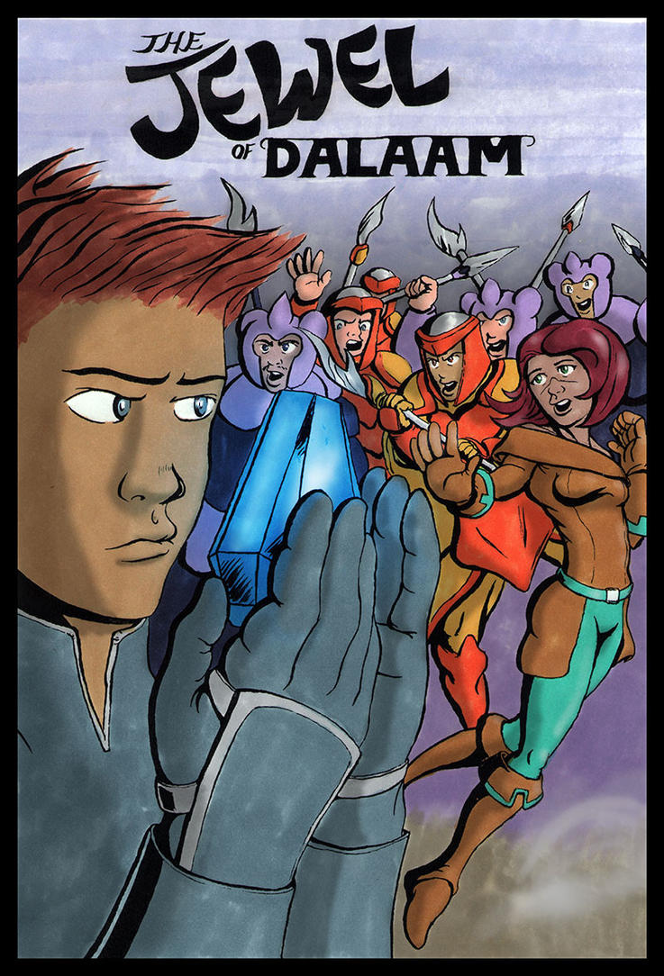 Jewel of Dalaam Cover by PabloSantiago