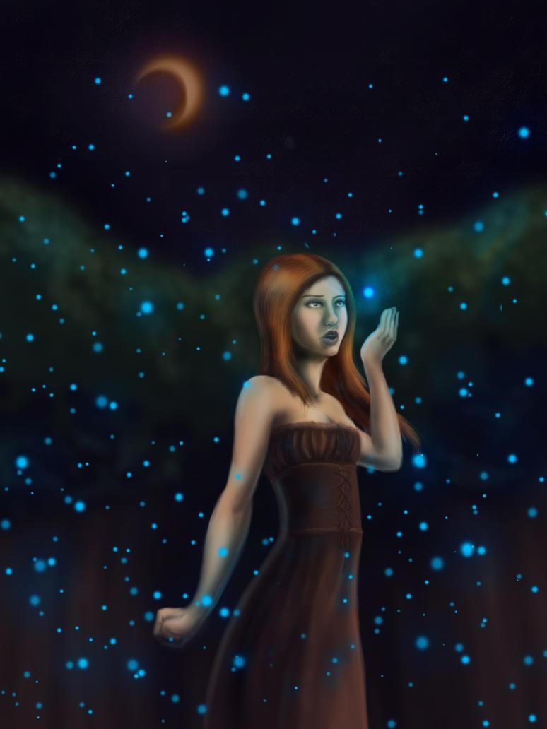 Fireflies by PabloSantiago