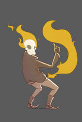 flames thrower by Big-Bouk
