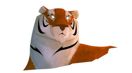 el tigreeeeeeeee by Big-Bouk