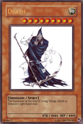 death yugioh card by Dbgtinfinite ...