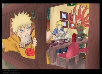 Naruto: Uzumaki Family by NinjaMia