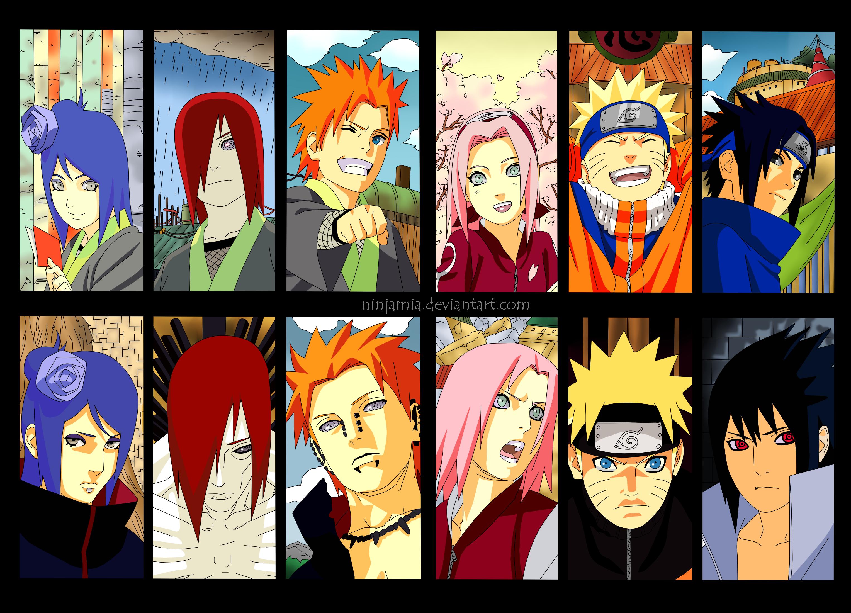 Naruto/Shippuuden by NinjaMia