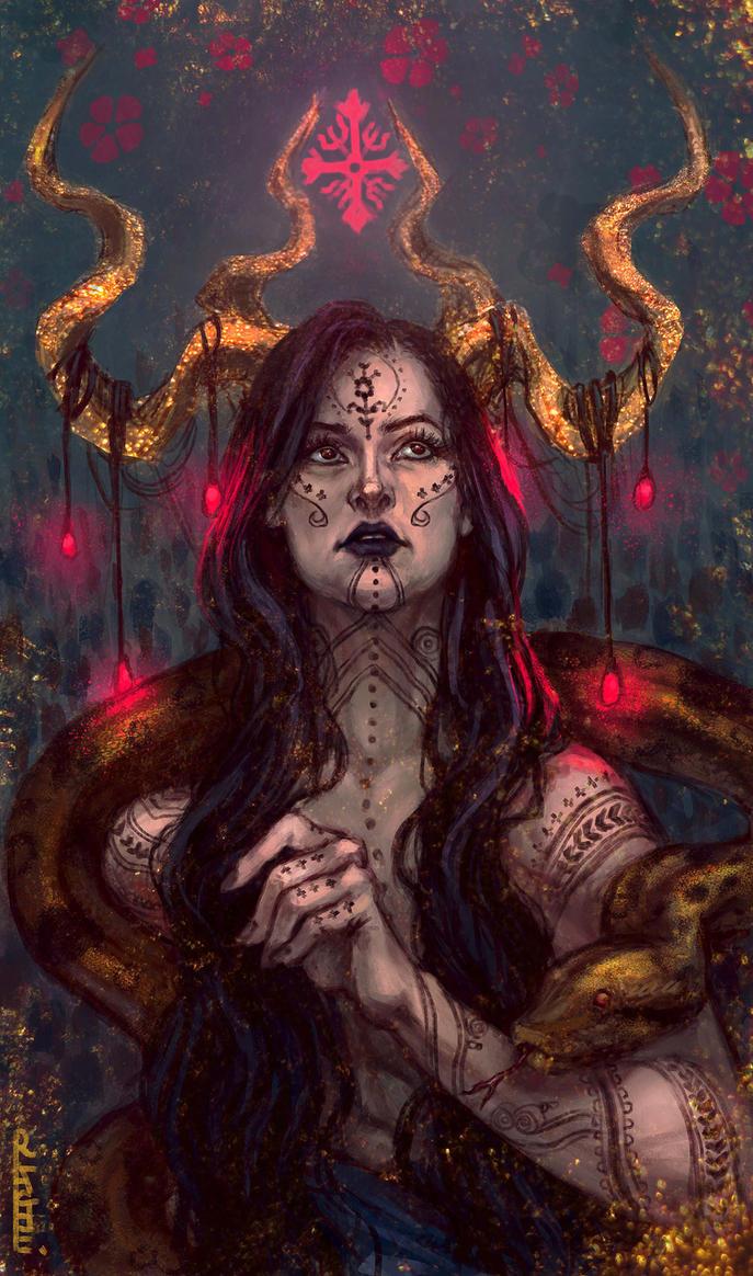 Self Portrait : Anaconda by RuxandraLache