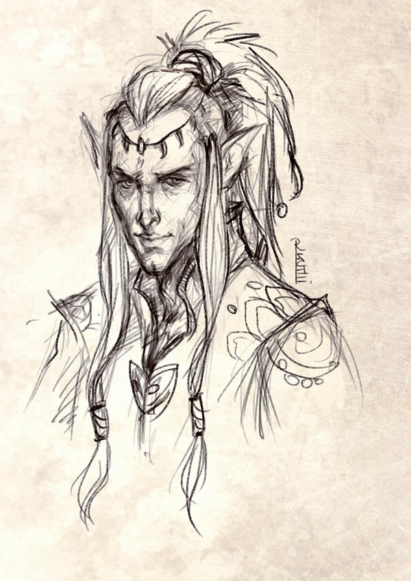 Young Fen'harel by RuxandraLache