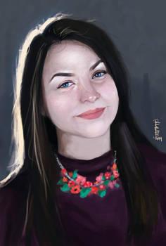 Portrait - Oana