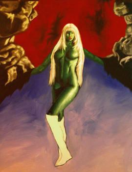 Green Sorceress