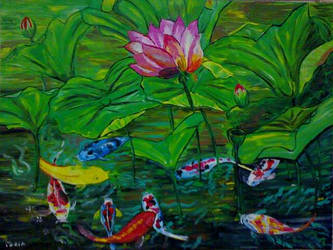 fior di loto by MariaBertrlli