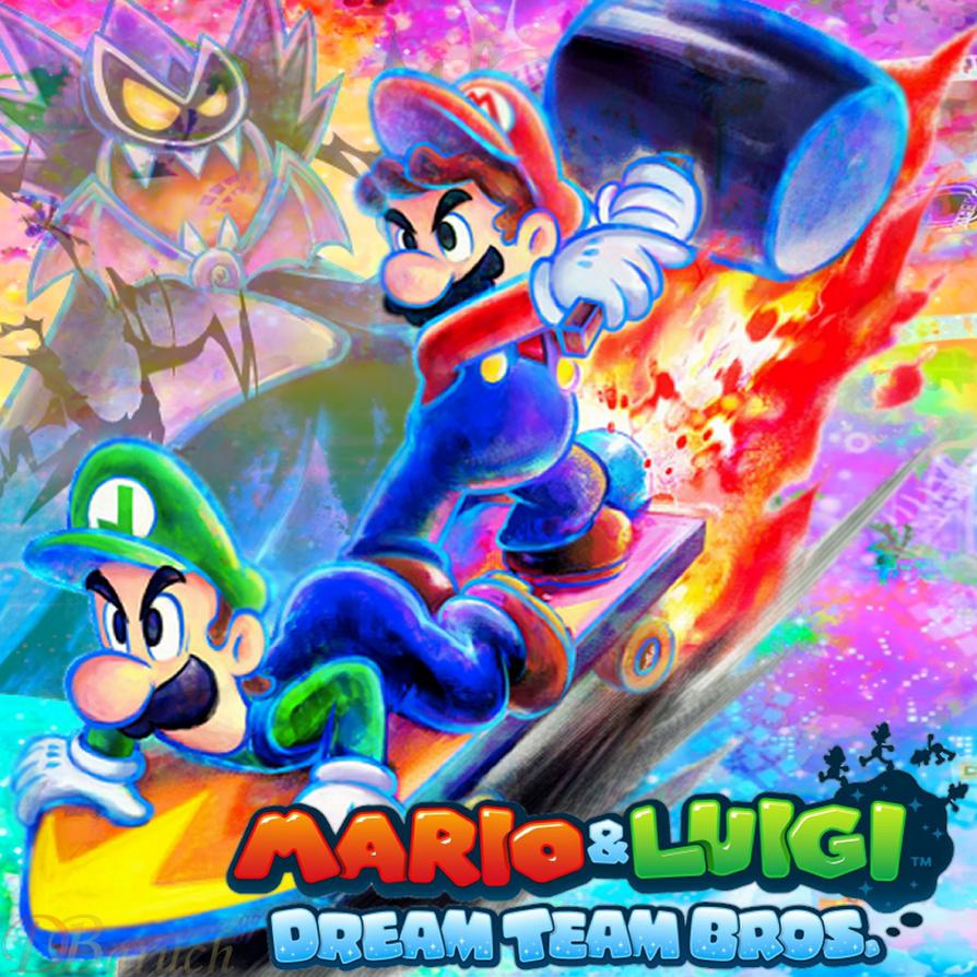 Mario And Luigi Dream Team Bros Perfil By Baruch97 On Deviantart