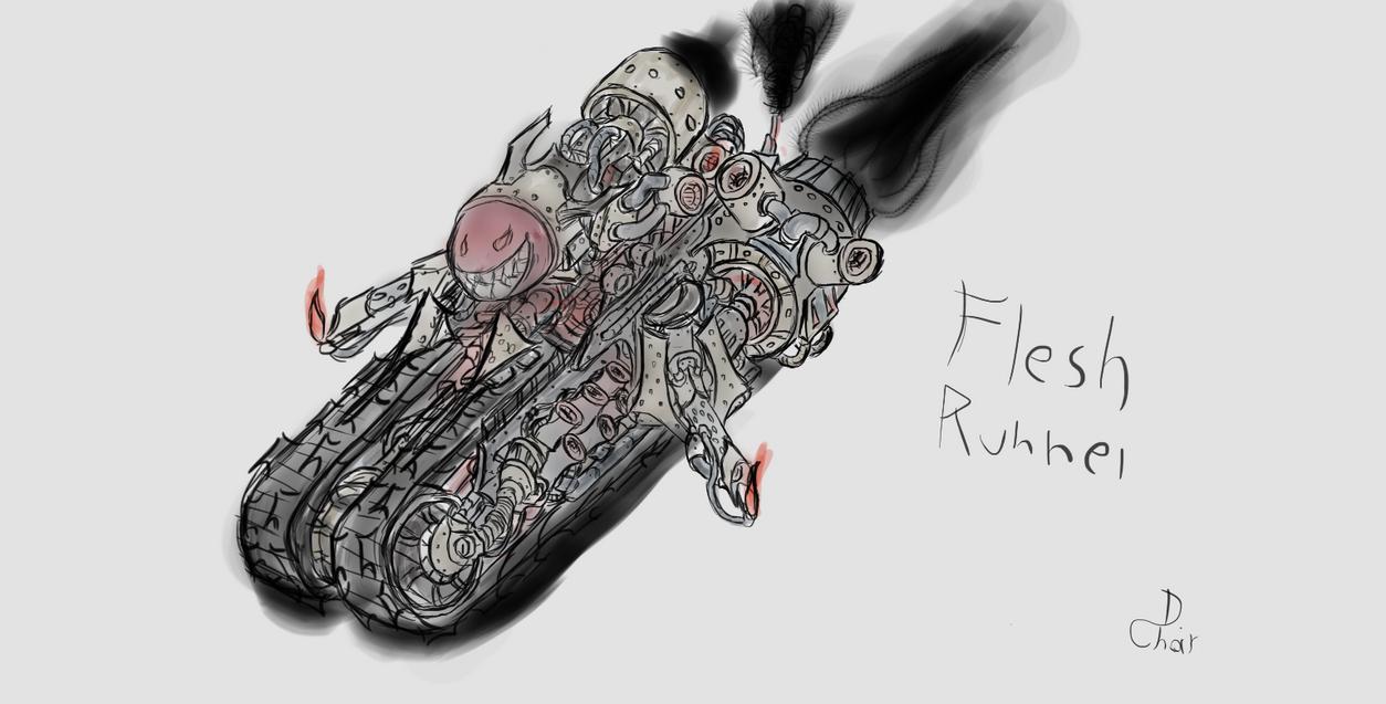 Flesh Runner by TheInvisibleMan109