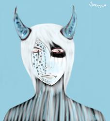 Feeling cold by VisualKeiBunny