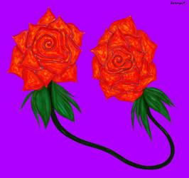 Roses by VisualKeiBunny