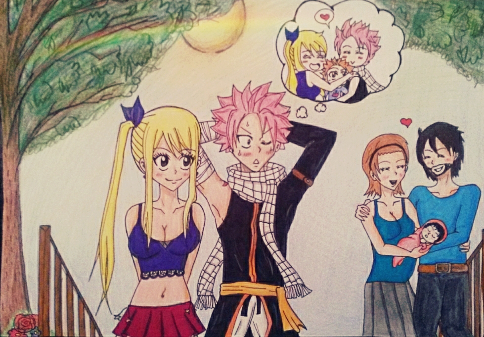 Natsu's imagination by Nalulover98 on DeviantArt
