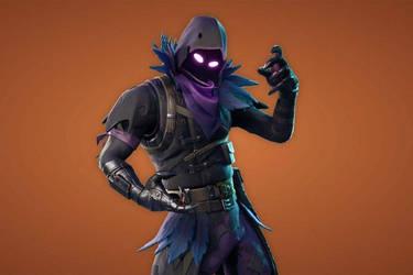 Skin Raven Fortnite by Blada0210