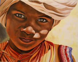 BEDOUIN CHILD by Mendrinos