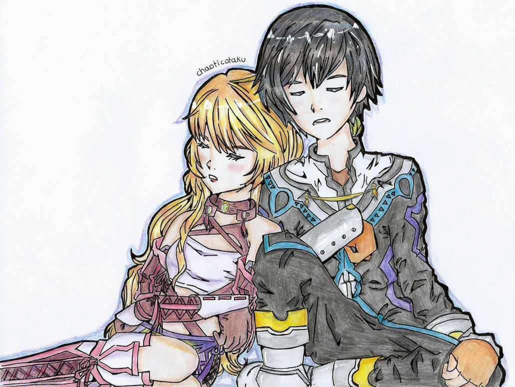 Jude Mathis and Milla Maxwell (Tales of Xillia) by Chaoticotaku