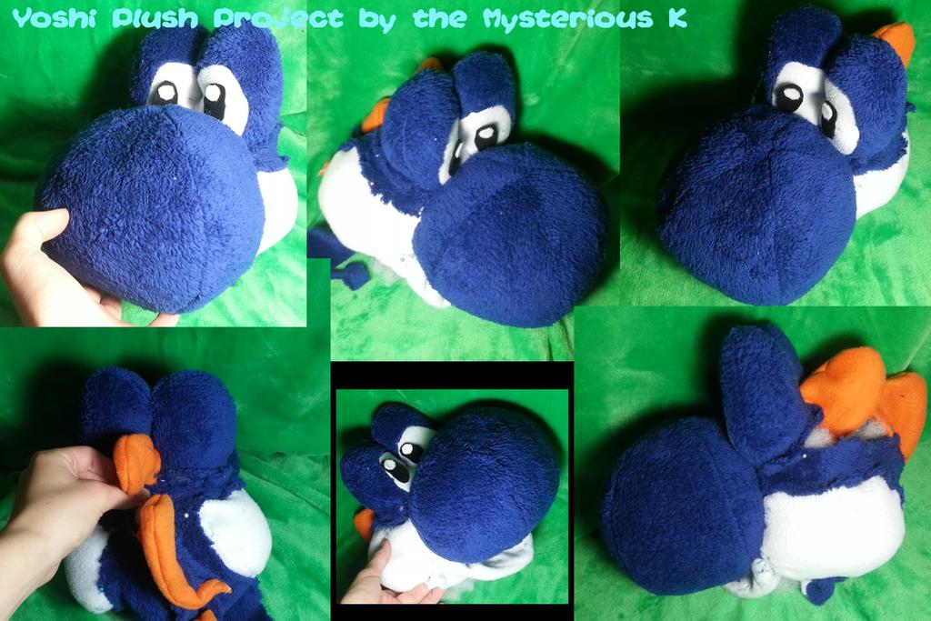 Yoshi plush project wip by humdeedum233 on deviantart for Yoshi plush template