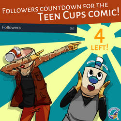 Teen Cups-Tumblr followers countdown for the comic