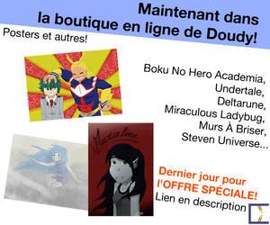 Apercu boutique: Posters!