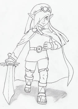 Vaati with sword