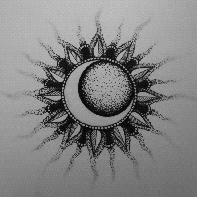 Sun And Moon Design Tumblr Sun and moon by catherinemonk