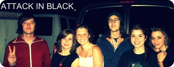 Attack In Black, band members by SineadCatherine