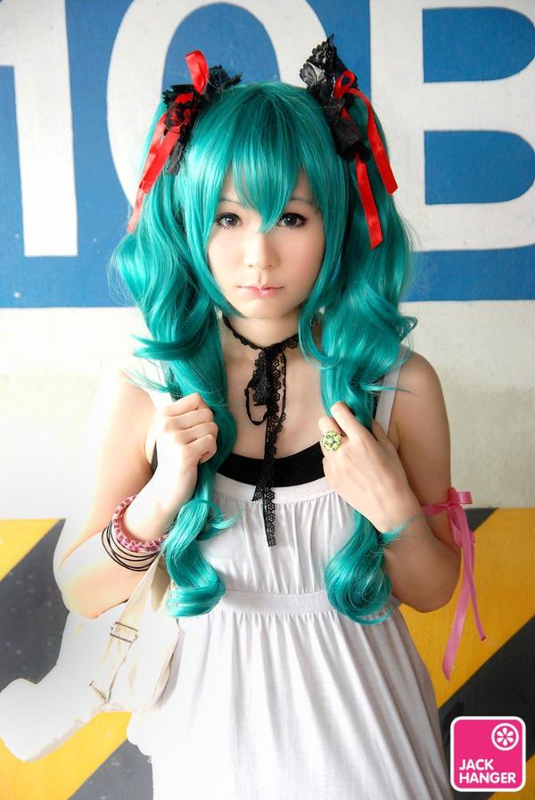 Hatsune Miku y Cosplay de Vocaloid
