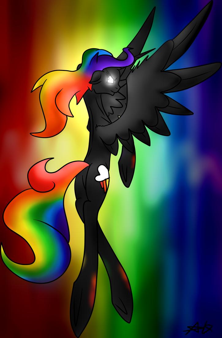 [ART TRADE] Rainbow Tears by Breeoche