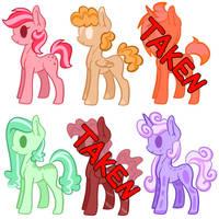 [5/6] Cheap Rainbow Adopts ! by Breeoche