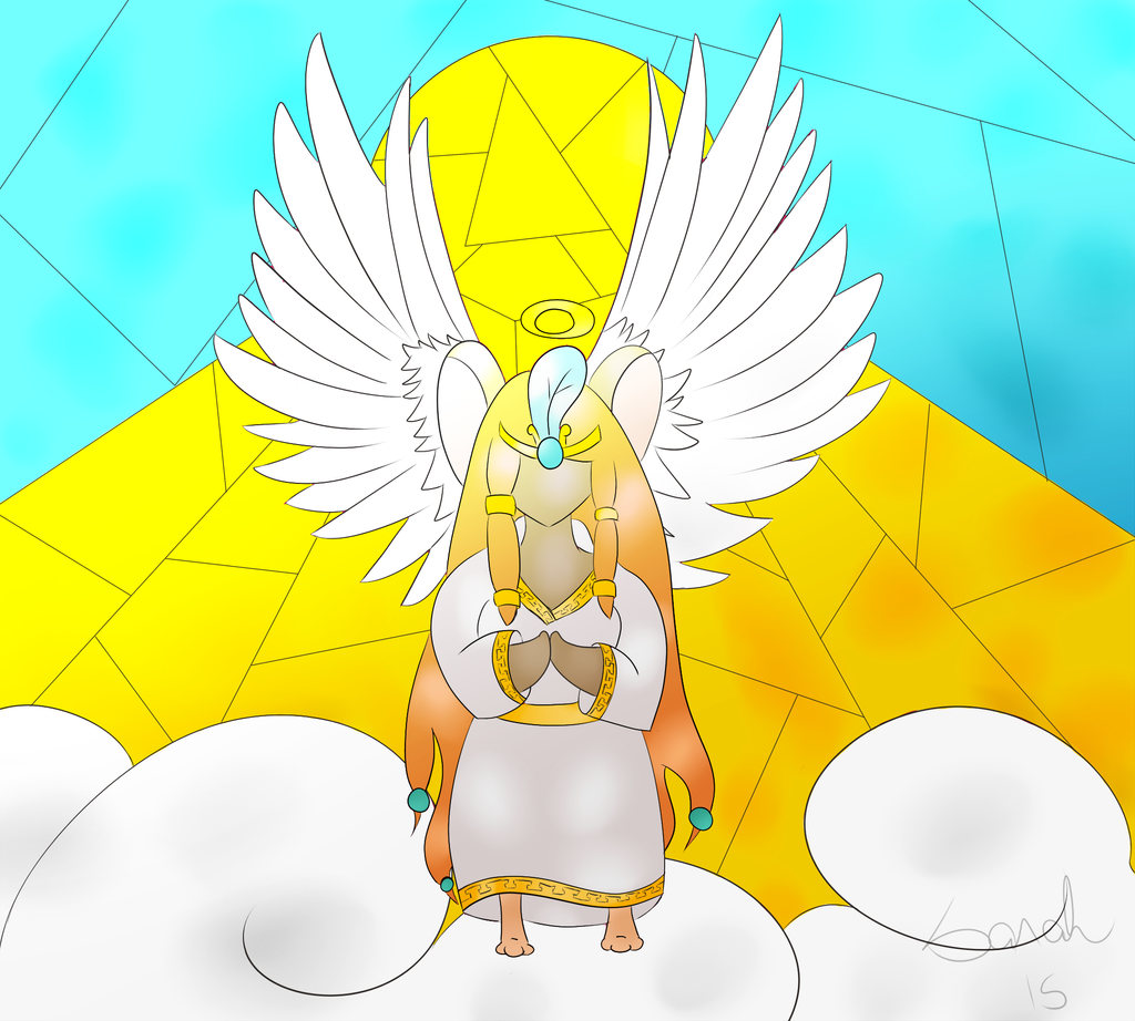 Vitral deusa by Saahlevy