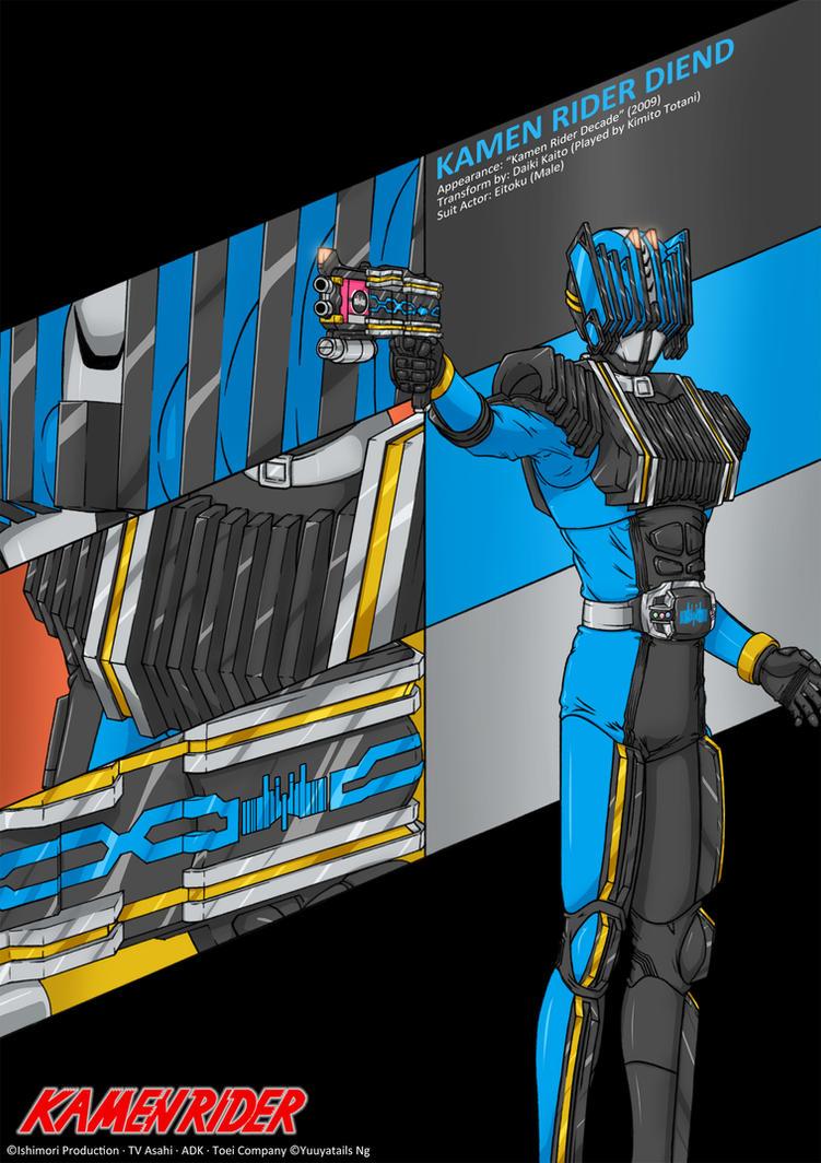 Kamen Rider Diend by Yuuyatails on DeviantArt
