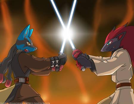Poke Star Wars - Duel on Mustafar