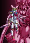 [Artwork] Quartz Knight Nobel Gundam